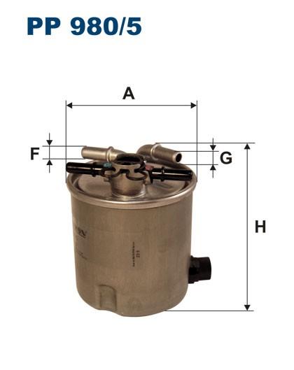 Filtr paliwa PP 980/5 [PP9805] FILTRON