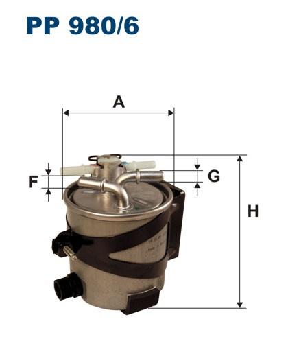 Filtr paliwa PP 980/6 [PP9806] FILTRON
