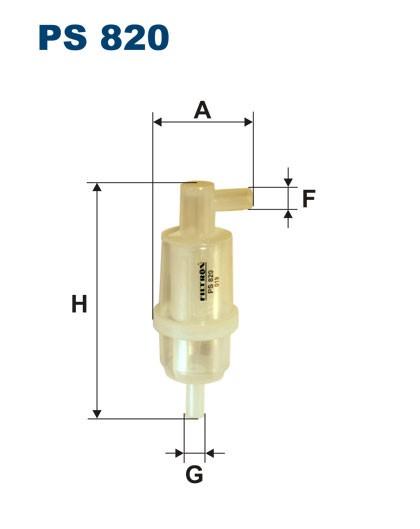 Filtr paliwa PS 820 [PS820] FILTRON