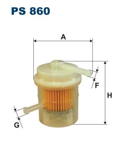 Filtr paliwa PS 860 [PS860] FILTRON