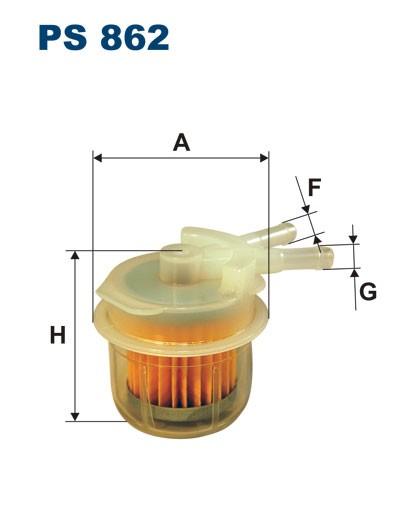 Filtr paliwa PS 862 [PS862] FILTRON