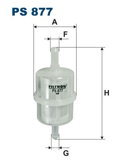 Filtr paliwa PS 877 [PS877] FILTRON