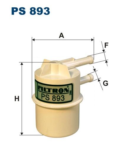 Filtr paliwa PS 893 [PS893] FILTRON