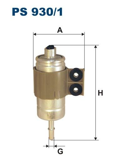 Filtr paliwa PS 930/1 FILTRON [PS9301]