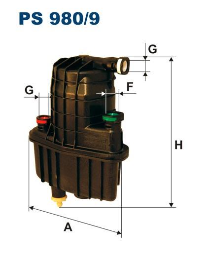 Filtr paliwa PS 980/9 [PS9809] FILTRON