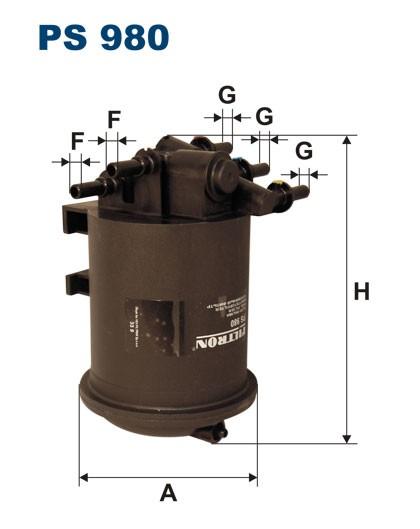 Filtr paliwa PS 980 [PS980] FILTRON