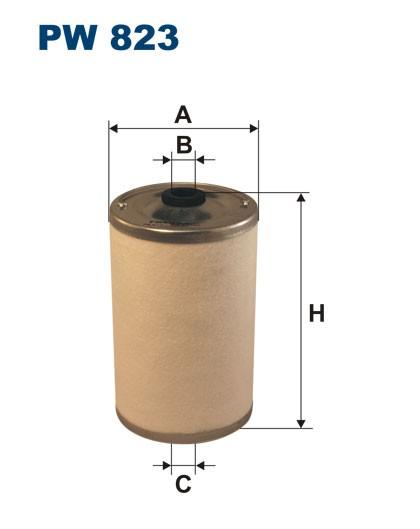 Filtr paliwa PW 823 [PW823] FILTRON