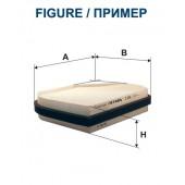 Filtr kabinowy K 1046A (K1046A) FILTRON