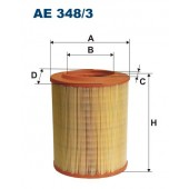 Filtr powietrza AE 348/3 (AE3483) FILTRON