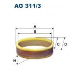 Filtr powietrza AG 311/3 (AG3113) FILTRON