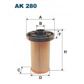 Filtr powietrza AK 280 (AK280) FILTRON