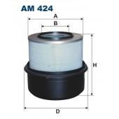 Filtr powietrza AM 424 [AM424] FILTRON