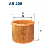 Filtr powietrza AR 200 [AR200] FILTRON