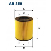 Filtr powietrza AR 359 [AR359] FILTRON