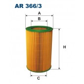 Filtr powietrza AR 366/3 [AR3663] FILTRON