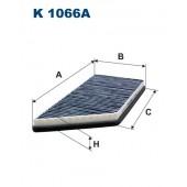 Filtr kabinowy K 1066A FILTRON [K1066A]