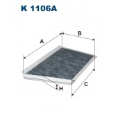 Filtr kabinowy K 1106A (K1106A) FILTRON