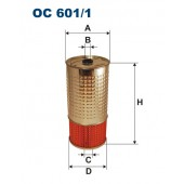 Filtr oleju OC 601/1 (OC6011) FILTRON