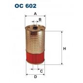Filtr oleju OC 602 (OC602) FILTRON
