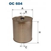 Filtr oleju OC 604 (OC604) FILTRON