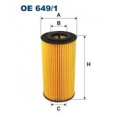 Filtr oleju OE 649/1 (OE6491) FILTRON