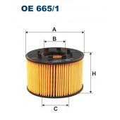 Filtr oleju OE 665/1 (OE6651) FILTRON