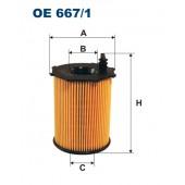 Filtr oleju OE 667/1 (OE6671) FILTRON