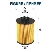 Filtr oleju OE 667 FILTRON [OE667]