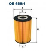 Filtr oleju OE 669/1 (OE6691) FILTRON