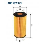 Filtr oleju OE 671/1 (OE6711) FILTRON