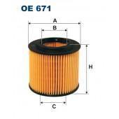 Filtr oleju OE 671 (OE671) FILTRON