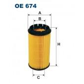 Filtr oleju OE 674 (OE674) FILTRON