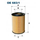 Filtr oleju OE 683/1 (OE6831) FILTRON