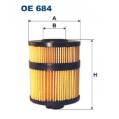 Filtr oleju OE 684 (OE684) FILTRON
