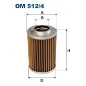 Filtr oleju OM 512/4 (OM5124) FILTRON