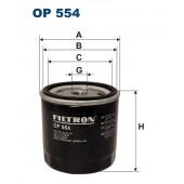 Filtr oleju OP 554 [OP554] FILTRON
