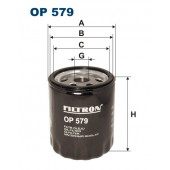 Filtr oleju OP 579 [OP579] FILTRON