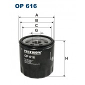 Filtr oleju OP 616 [OP616] FILTRON