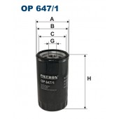 Filtr oleju OP 647/1 (OP6471) FILTRON