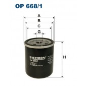Filtr oleju OP 668/1 (OP6681) FILTRON