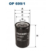 Filtr oleju OP 699/1 (OP6991) FILTRON