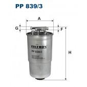 Filtr paliwa PP 839/3 [PP8393] FILTRON