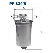 Filtr paliwa PP 839/8 [PP8398] FILTRON
