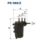 Filtr paliwa PS 980/2 [PS9802] FILTRON