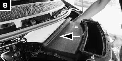 Wymiana filtra kabinowego MANN - instrukcja